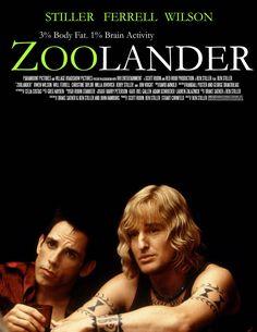 Zoolander  - Ben Stiller Owen Wilson Will Ferrell