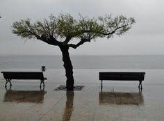 La Bahia de Santander ..un dia gris de Mayo.