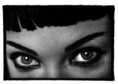 Hair by #OdileGilbert #LindaEvangelista #Photo by #PeterLindbergh for #VogueParis