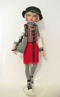 3-DAY-OOAK-Winter-Fashion-by-WS-fits-Ellowyne-Wilde, by jkinmcd via eBay ends Mon 1/19/15 Bid $39.99
