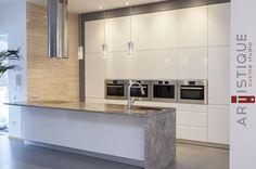 El Blanco esta de moda, por eso las cocinas que más vendemos son las blancas, con diseños únicos y vanguardistas...!