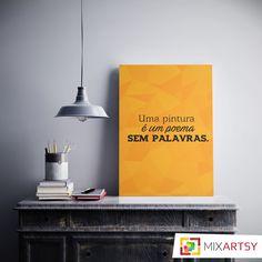 Como não amar pintura? <3 www.mixartsy.com.br