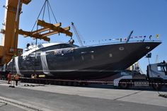 AB Yachts launch 30m AB 100 Motor Yacht SPECTRE