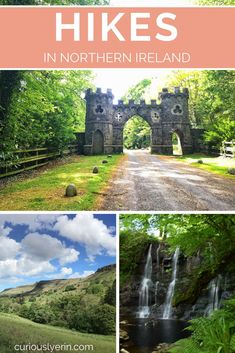 Top 3 Picturesque Short Hikes And Walks In Northern Ireland 3 Must-Do Short Hikes in Northern Ireland – Curiously Erin Ireland Hiking, Ireland Travel Guide, Hiking Europe, Dublin Ireland, Cork Ireland, Belfast Dublin, Visit Northern Ireland, Hawaii, Ireland Landscape