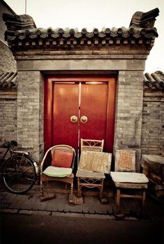 Beijing hutong old dwellings