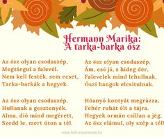 Karácsony Stories For Kids, Kids And Parenting, Diy And Crafts, Poems, Autumn, Teaching, Fall, School, Stories For Children