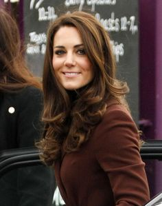I think everyone wants Kate Middleton's hair. I certainly do! Classic and feminine, subtle layers and curled ends