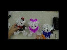水晶串珠 動物類飾品 小烏龜 (款式2) - YouTube