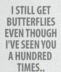 I still get butterflies