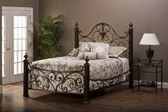 78+ Wrought Iron Bedroom Ideas - Interior Design Bedroom Color Schemes Check more at http://grobyk.com/wrought-iron-bedroom-ideas/