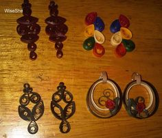 quilled earrings - Google Search