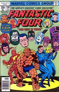Fantastic Four # 190 by Jack Kirby & Frank Giacoia
