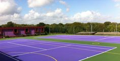 MUGA Colour Spraying in Mardy