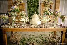 decoraçao casamento com rosas gipsofila - Pesquisa Google