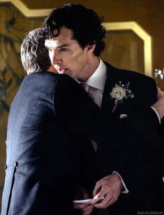 BBC Sherlock 'The Sign of Three' - Super-High-Quality Production Stills - The wedding speech