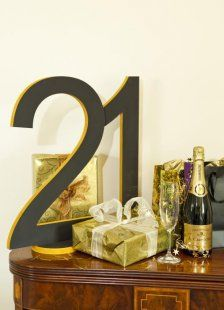 Louis Birthday :)  Large Bespoke Wooden Numbers