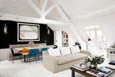 Duplex Parisien - Living Room - contemporain - Salle de Séjour - Other Metro - Sarah Lavoine -Studio d'architecture d'intérieur