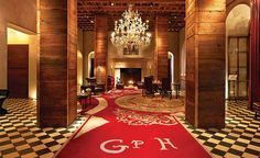 Gramercy Park Hotel Stylishly decorated by artist Julian Schnabel, the colorful, opulent rooms and suites have flat-screen TVs, WiFi and mahogany drinks cabinets; many have park views.