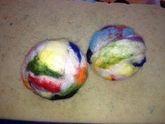 palline per cani  gatti e bambini in lana cotta di CreazioniMonica