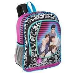 One Direction Zip That 16 inch Backpack - Multicolored ** Visit the image link more details.