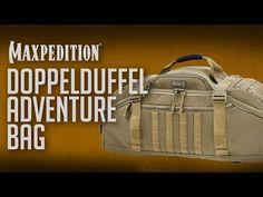 5004879b03bf Doppelduffel Adventure Bag - Military