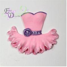 Ballerina tutu dress cutter/cortador de vestido de bailarina