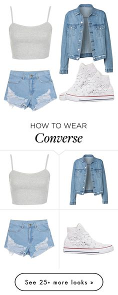 """Demigod Daughter#270"" by cfull on Polyvore featuring Topshop and Converse"
