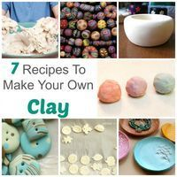 7 Recipes To Make Your Own Modeling Clay is part of Modeling Clay crafts Note these aren't polymer clays They are a variety of modeling clays suited for different purposes Some are great for kid - Homemade Polymer Clay, Polymer Clay Recipe, Homemade Clay Recipe, Make Your Own Clay, How To Make Clay, Modeling Clay Recipe, Modelling Clay, Sculpting Clay Recipe, Clay Ornaments