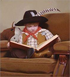 Stephen Gjertson a famous American Painter as a child.