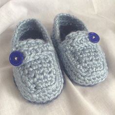 Crochet Casual Loafers Baby Boy Shoes by HookYarnAndHooper on Etsy