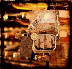 plaque de porte by Titbelsoeur, via Flickr http://titbelsoeur.eklablog.com/papa-pique-et-maman-coud-a98655535