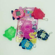 The Latest 5 Style Virtual Network Digital Electronic Pet Tamagochi Christmas Gift High Quality Retro Nostalgic Key Chain Retro, Electronic Toys, Nostalgia, Electronics, Keys, Style, Key Pouch, Xmas Presents