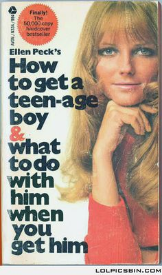 Book for MILFs. Is that model Cheryl Tiegs on the cover?