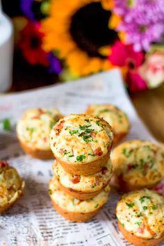 Täältä tulevat herkulliset kinkkumuffinssit! Food And Drink, Cooking, Kitchen, Brewing, Cuisine, Cook