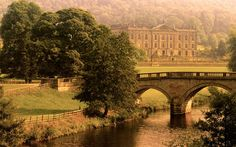 Chatsworth House  Pride and Prejudice (2005), The Duchess (2008), The Wolfman (2009)  Chatsworth House in Derbyshire, one of Britain's most popular stately homes, has probably been used in almost as many films as it has had visitors