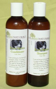 Sulfate free Shampoo and Conditioner with by OneTreeNaturals, $18.50