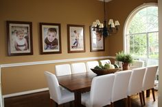 picture wall & table decor