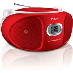 Buy Philips Boombox with CD Player - Red at Argos.co.uk - Your Online Shop for Personal CD players and cassette players.