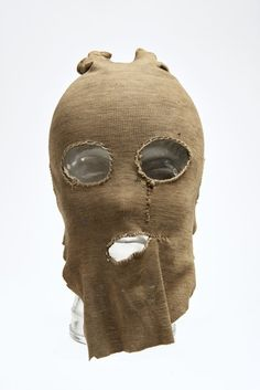 Mask from the murder case of PC George Gutteridge by Frederick Browne and William Kennedy, 1927.