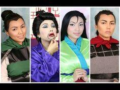 Disney's Mulan Makeup Tutorial - YouTube