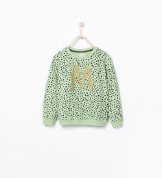 Imagem 1 de SWEATSHIRT DE FELPA ESTAMPADA da Zara