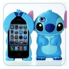 86Hero Disney 3D Stitch coque pour iPhone 4S/4