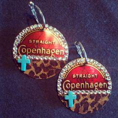 Cute Copenhagen earrings for sale!! Repin!!