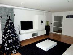 Nuestro salón en blanco y negro