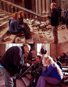 Behind the scenes - Deathly Hallows 2