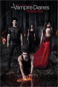 Poster von The Vampire Diaries - Woods