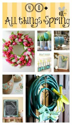 40+All things creative Spring edition
