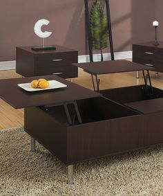 Love This Cappuccino Lift Top Coffee Table On