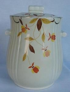 Autumn Leaf Tootsie Cookie Jar. Please click the image for more information.