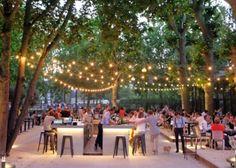 The perfect terrace for lazing around Parfait, Lyon Restaurant, Lyon France, Tap Room, Terrace, Dolores Park, City, Envole, Travel